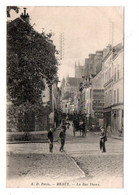 Carte Postale Ancienne - Non Circulé - Dép. 77 - MEAUX - La Rue THIERS - Meaux