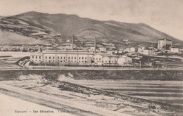 REF.AG6 . CPA . ESPAGNE SAN SEBASTIEN . VISTA DE LEZO RENTERIA - Guipúzcoa (San Sebastián)