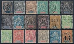 EB-86: Nelle CALEDONIE: Lot Obl/*/NSG Entre   N°29 Et 66 - Unused Stamps
