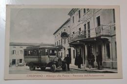 Crespano Albergo Alla Posta Fermata Dell'Autocorriere - Treviso
