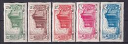 GUINEE - YVERT N° 153/157 * MLH - COTE 2020 =  70 EUR. - REVOLUTION - 1939 150e Anniversaire De La Révolution Française
