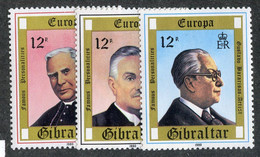 BC 7388 *Offers Welcome* 1980 Sc.390-92 Mnh** - Gibraltar