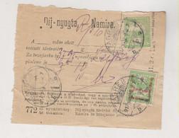 CROATIA.HUNGARY ZAGREB 1917 Nice Postal Document - Croacia