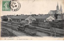 CHARTRES - Les Quais De La Gare - Très Bon état - Chartres