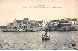 CONCARNEAU - Vue Sur Le Passage Et Le Bac - Très Bon état - Concarneau
