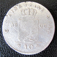 German States / BADEN - 10 Kreuzer 1808 Carl Friedrich En Argent - Monedas Pequeñas & Otras Subdivisiones
