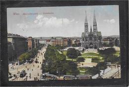 AK 0713  Wien - Maximilianplatz Mit Votivkirche Um 1920 - Churches