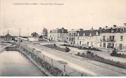 COURSEULLES SUR MER - Place De Caen - Le Square - Très Bon état - Courseulles-sur-Mer