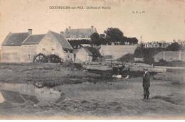 COURSEULLES SUR MER - Château Et Moulin - Très Bon état - Courseulles-sur-Mer