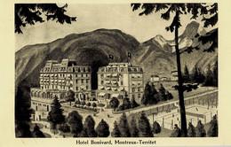 Hôtel Bonivard Montreux-Territet - VD Vaud