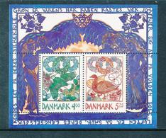 Denmark Souvenir Sheet In Mint Condition (heralds Of Spring) 1999 - Ongebruikt