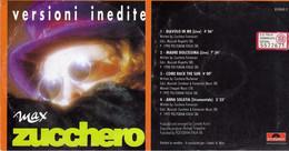 ZUCCHERO VERSIONI INEDITE MAX (CDS) 4 TRACKS DIAVOLO IN ME - Altri - Musica Italiana
