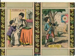"""Imagerie PELLERIN & Cie - Livret 16 Pages """"Le Fusil"""" - Publicité DUBOIS, Tours, 37 - Other"""