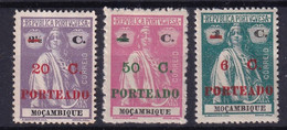 Mozambique Colonie Portugaise Taxe YT*+° 44-48 - Portugees-Afrika