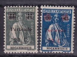 Mozambique Colonie Portugaise Taxe YT*+° 47-48 - Africa Portuguesa