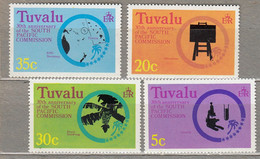 TUVALU 1977 South Pacific Commission MNH(**) Mi 46-49 #28258 - Tuvalu