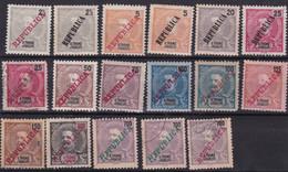 Saint Thomas Et Prince Colonie Portugaise YT*+° 101-115 - Africa Portuguesa
