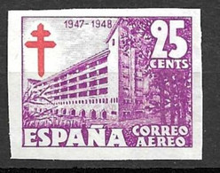 Espagne Poste Aérienne YT N° 237A Non Dentelé Neuf ** MNH. TB. A Saisir! - Nuevos & Fijasellos