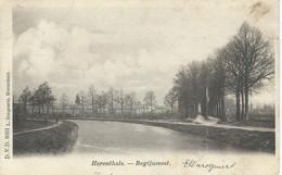 HERENTHALS - HERENTALS : Begijnevest - D.V.D. 8601 - RARE CPA - Cachet De La Poste 1902 - Herentals