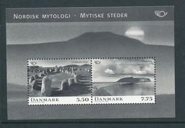 Denmark Souvenir Sheet In Mint Condition (Nordic Myology Mysterious Places) 2006 - Ongebruikt