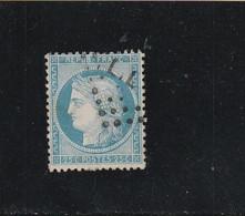 """CÉRÈS N° 60 A  -  CACHET  AMBULANT DE FRANCE """"  PLIL """"  - REF LOC37 - 1871-1875 Ceres"""