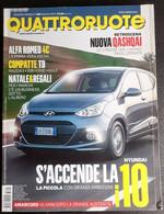 QUATTRORUOTE 2013 N.699 HYUNDAI I 10. ALFA ROMEO 4C. NUOVA QASHQAI - Motori