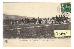 St-Mihiel  :  Le 40e D'artillerie Rassemblé à Chauvoncourt - Saint Mihiel