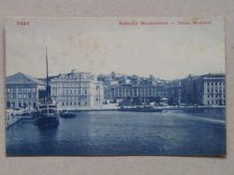 10551 Trieste Trst Nabrežje Mandracchio Obala Mandrač 1907 Zaloga J. Gorenjec 894 B - Sin Clasificación