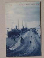 10549 Trieste Trst Pomol Sv. Karla Gat 1907 Zaloga J. Gorenjec 7065 B Piroscafo Dampfer Parobrod - Trieste