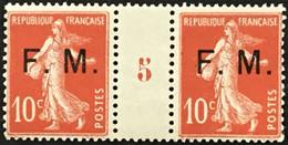 YT 5 Millésime 5 1915 (*) MH Franchise Militaire 1906-07 Semeuse 10c Rouge (138) (14 Euros) – Kr3lot - Millesimes