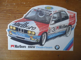 STICKER / AUTOCOLLANT RALLYE -  MARLBORO BMW M3 E30 - Stickers