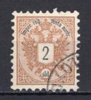 1883 AUSTRIA 2 SO. LEVANT MICHEL: L8 USED - Oriente Austriaco