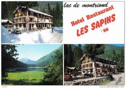 """Carte Postale 74.  Morzine - Avoriaz  """"Les Sapin""""  Hotel Lac De Montriond Trés Beau Plan - Morzine"""