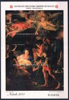 C203) SMOM 2001 - NATALE FOGLIETTO - NUOVI - Malte (Ordre De)