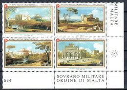C202) SMOM 2000 - ANTICHE VEDUTE 2° EMISSIONE - NUOVI - Malte (Ordre De)