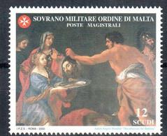 C206) SMOM 2000 - SAN GIOVANNI BATTISTA 22° EMISSIONE - NUOVI - Malte (Ordre De)