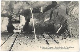 CESSERAS - Grottes De FAUZAN - Exploitation De Phosphates - Front De Taille Au Carrefour Des Galeries - Ohne Zuordnung