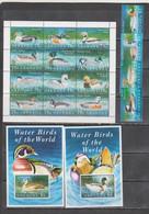 Grenada 1995 Birds Ducks Set+klb+2s/s MNH - Otros