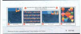 C204) SMOM 2000 - SERIE COMPLETA DONAZIONI ARTISTI - NUOVI - Malte (Ordre De)