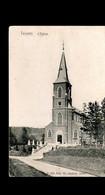 1339-TEUVEN-eglise Kerk -AUBEL-->MEMBACH Relais Cachet Etoiles Sterstempel 1907 - Fourons - Voeren