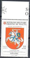 C211) SMOM 2000 - POSTA AEREA CONVENZIONE CON LA LITUANIA - NUOVI - Malte (Ordre De)