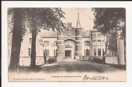 Santhoven Zandhoven Hoelen Nr 408 : L'antrée Du Chateau De Liere 1904 - Zandhoven
