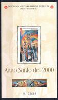 C214) SMOM 2000 - ANNO SANTO FOGLIETTO - NUOVI - Malte (Ordre De)