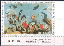 C215) SMOM 1999 - NATURA E ARTE - NUOVI - Malte (Ordre De)