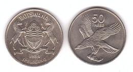 Botswana - 50 Thebe 1984 UNC Lemberg-Zp - Botswana