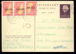 NIEDERLAENDISCH-NEUGUINEA  Unter UNO-VERWALTUNG UNTEA Briefkaart - Netherlands New Guinea