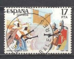 España, 1984,  Yvert-tellier 2784, Usado - 1981-90 Oblitérés