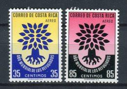 Costa Rica 1960. Yvert A 289-90  ** MNH. - Costa Rica