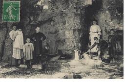 Audelange Fontaine Dans Le Rocher - Otros Municipios