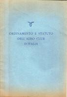 B 4290  -  Aero Club D'Italia - Unclassified